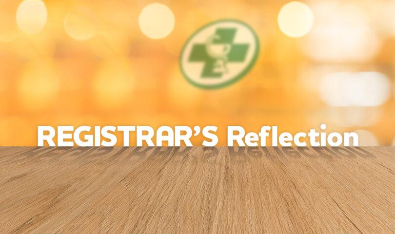 Registrars Reflections banner