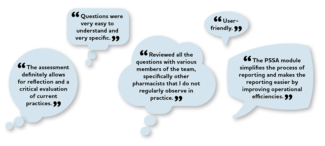 What We Heard PSSA Pilot Group Graphic Quotes