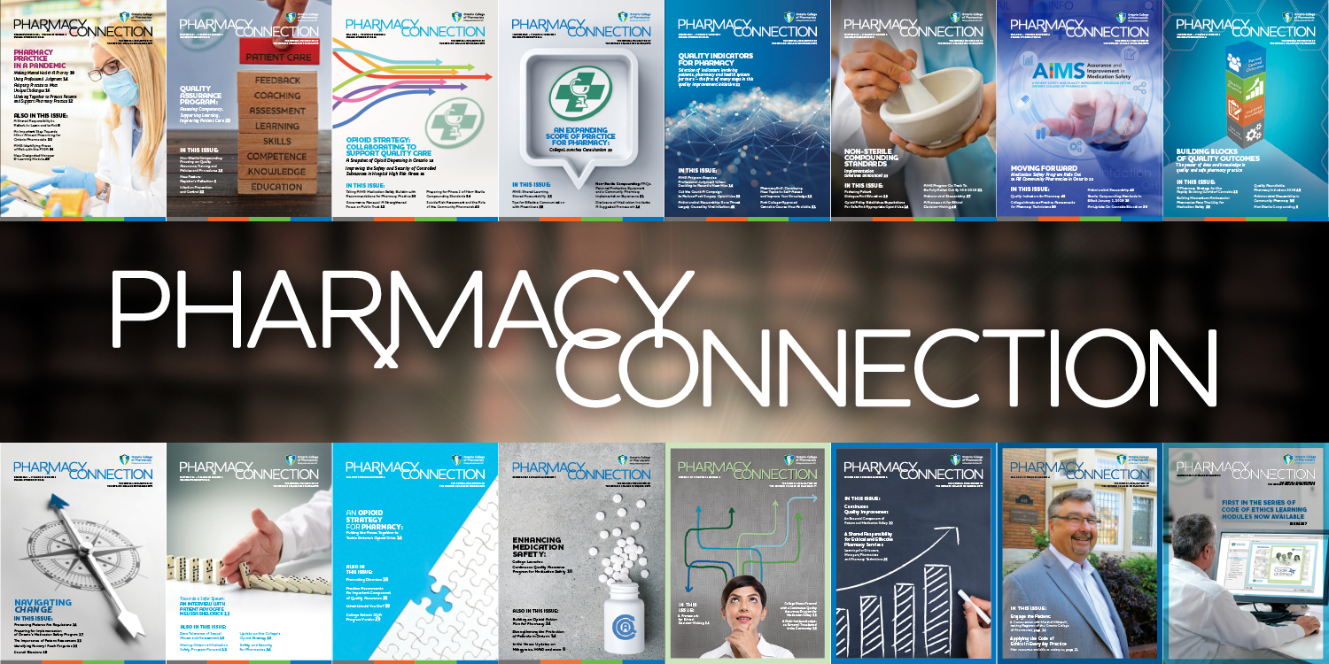 Pharmacy Connection Magazine PDF Back Issues banner