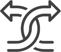 icon or arrows