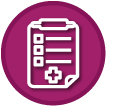 icon for review history of patient